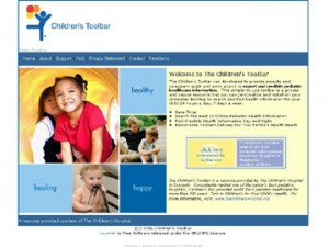 Children's Toolbar - Welcome to The Children's Toolbar